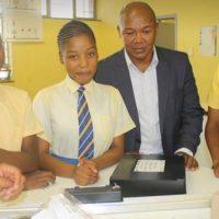 Sukuma Comprehensive School in Pietermaritzburg, donation of Science Lab