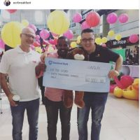 Donating funds towards the ECR Toy Story AmaLunchbox Campaign in 2017